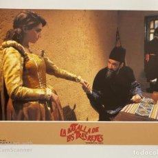 Cine: AFICHE DE CINE. PELICULA: LA BATALLA DE LOS TRES REYES. MEDIDAS APROX.: 34 X 24 CM. Lote 184312198