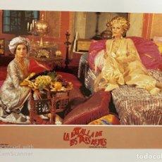 Cine: AFICHE DE CINE. PELICULA: LA BATALLA DE LOS TRES REYES. MEDIDAS APROX.: 34 X 24 CM. Lote 184312243