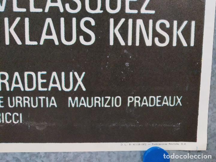 Cine: Los leopardos de Churchill. Richard Harrison, Klaus Kinski AÑO 1972. POSTER ORIGINAL - Foto 4 - 184364331