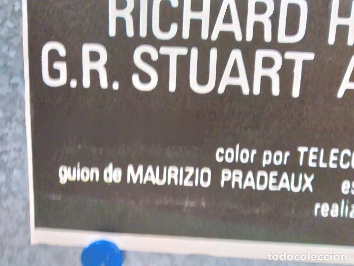 Cine: Los leopardos de Churchill. Richard Harrison, Klaus Kinski AÑO 1972. POSTER ORIGINAL - Foto 5 - 184364331