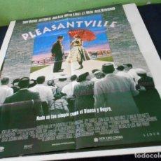 Cine: PLEASANTVILLE CARTEL POSTER CINE ORIGINAL 70X100 CMS. Lote 184466797