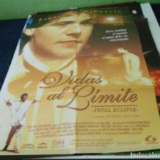 Cine: VIDAS AL LIMITE CARTEL POSTER CINE ORIGINAL 70X100 CMS. Lote 184466922