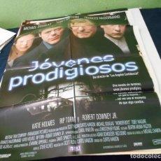 Cine: JOVENES PRODIGIOSOS CARTEL POSTER CINE ORIGINAL 70X100 CMS. Lote 184470801