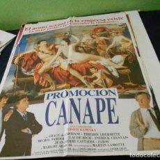 Cine: PROMOCION CANAPE CARTEL POSTER CINE ORIGINAL 70X100 CMS. Lote 184471318