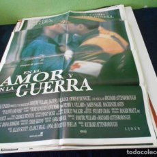 Cine: EN EL AMOR Y EN LA GUERRA CARTEL POSTER CINE ORIGINAL 70X100 CMS. Lote 184471782