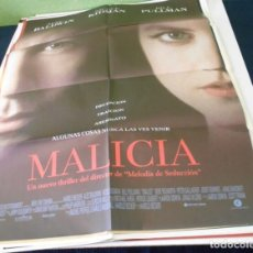 Cine: MALICIA CARTEL POSTER CINE ORIGINAL 70X100 CMS. Lote 184472681