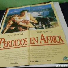 Cine: PERDIDOS EN AFRICA POSTER CINE ORIGINAL 70X100 CMS. Lote 184475427