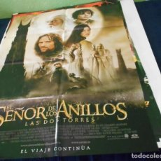 Cine: EL SEÑOR DE LOS ANILLOS LAS DOS TORRES CARTEL POSTER CINE ORIGINAL 70X100 CMS. Lote 215581855