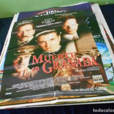 Cine: MUERTE EN GRANADA CARTEL POSTER CINE ORIGINAL 70X100 CMS. Lote 184475898