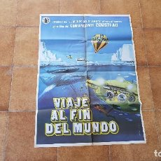 Cine: POSTER CARTEL VIAJE AL FIN DEL MUNDO (1977) JACQUES COUSTEAU. Lote 184594857