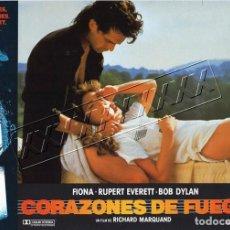 Cine: CORAZONES DE FUEGO.CARTELERA. 12 FOTOCROMOS. Lote 184647163