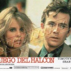 Cine: EL JUEGO DEL HALCÓN. CARTELERA. 12 FOTOCROMOS. Lote 184647551