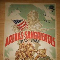 Cine: ARENAS SANGRIENTAS ( SANDS OF IWO JIMA ) FERNANDO PIÑANA. Lote 184648872