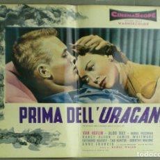 Cine: UU34D MAS ALLA DE LAS LAGRIMAS TAB HUNTER RAOUL WALSH SET 3 POSTERS ORIGINALES ITALIANOS 47X68. Lote 184651457