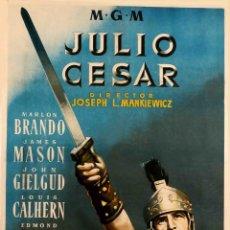 Cine: JULIO CESAR MGM ENTELADO COPIA RARÍSIMA. Lote 184717133