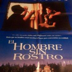Cine: CINE. CARTEL ORIGINAL DE LA PELICULA EL HOMBRE SIN ROSTRO. CON MEL GIBSON. Lote 184795311