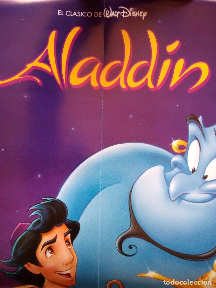 Cine: POSTER ALADDIN PELÍCULA DISNEY (OFICIAL, 1994) - Foto 4 - 184828381