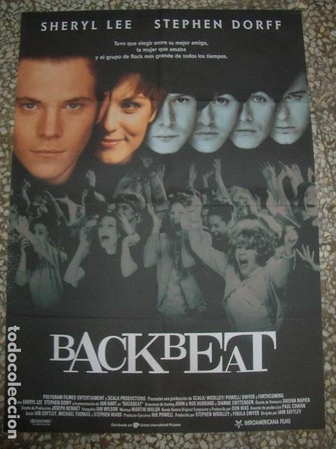 PÓSTER ORIGINAL DE 100X70CM BACKBEAT, THE BEATLES (Cine - Posters y Carteles - Musicales)