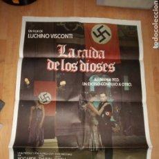 Cine: POSTER DE CINE. LA CAÍDA DE LOS DIOSES. Lote 185028376