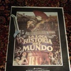 Cine: LA LOCA HISTORIA DEL MUNDO MEL BROOKS POSTER ORIGINAL 70X100 YY (2208). Lote 185054187