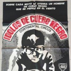 Cinema: POSTER IDOLOS DE CUERO NEGRO. Lote 185092873
