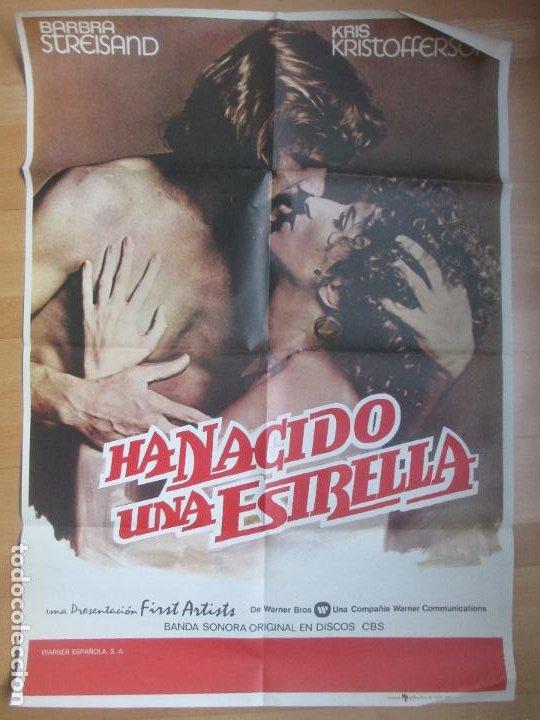 CARTEL CINE HA NACIDO UNA ESTRELLA BARBRA STREISAND KRIS KRISTOFFERSON 1977 C1688 (Cine- Posters y Carteles - Drama)