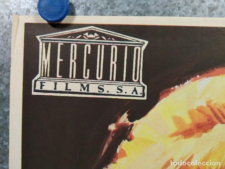 Cine: LA MARCA DEL ESCORPION. JOACHIM FUCHSBERGER, SIV MATTSON, EDGAR WALLACE. AÑO 1972 POSTER ORIGINAL - Foto 2 - 185716293