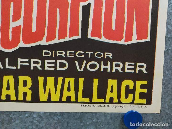 Cine: LA MARCA DEL ESCORPION. JOACHIM FUCHSBERGER, SIV MATTSON, EDGAR WALLACE. AÑO 1972 POSTER ORIGINAL - Foto 4 - 185716293