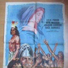 Cine: CARTEL CINE LA REINA DEL CIELO LILIA PRADO RITA MACEDO 1962 C1694. Lote 185887486