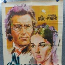 Cine: MI AMOR NO MORIRÁ. ALBANO, ROMINA POWER AÑO 1971. POSTER ORIGINAL. Lote 269096693