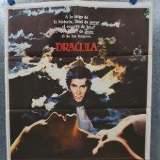 Cine: DRACULA. FRANK LANGELLA, LAURENCE OLIVIER. AÑO 1979 POSTER ORIGINAL. Lote 185903528
