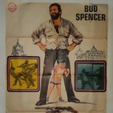 Cine: CARTEL CINE PIES GRANDES BUD SPENCER HP GRAFICO 1976 C375. Lote 185937322