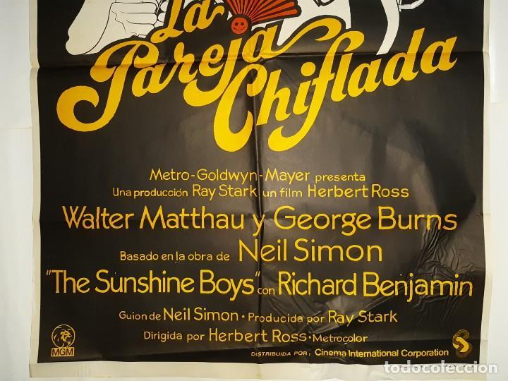 Cine: CARTEL CINE LA PAREJA CHIFLADA WALTER MATTHAU 1976 C378 - Foto 3 - 185937606