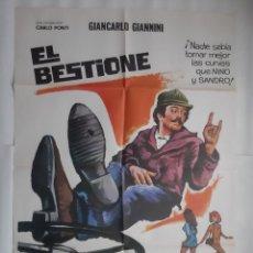 Cine: CARTEL CINE EL BESTIONE MICHEL CONSTANTIN PRODUCTOR CARLO PONTI 1975 HP C400. Lote 186008390