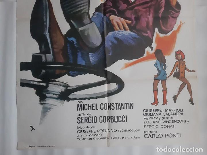 Cine: CARTEL CINE EL BESTIONE MICHEL CONSTANTIN PRODUCTOR CARLO PONTI 1975 HP C400 - Foto 3 - 186008390