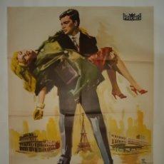 Cine: CARTEL CINE DANIELA 1962 MONTALBAN C407. Lote 186031051