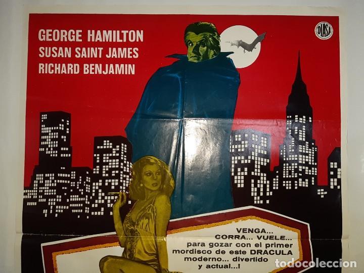 Cine: CARTEL CINE, AMOR AL PRIMER NMORDISCO GEORGE HAMILTON 1979 C 419 - Foto 2 - 186111033