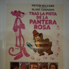 Cine: CARTEL CINE,TRAS LA PISTA DE LA PANTERA ROSA PETER SELLERS1982 UAC C424. Lote 206596076