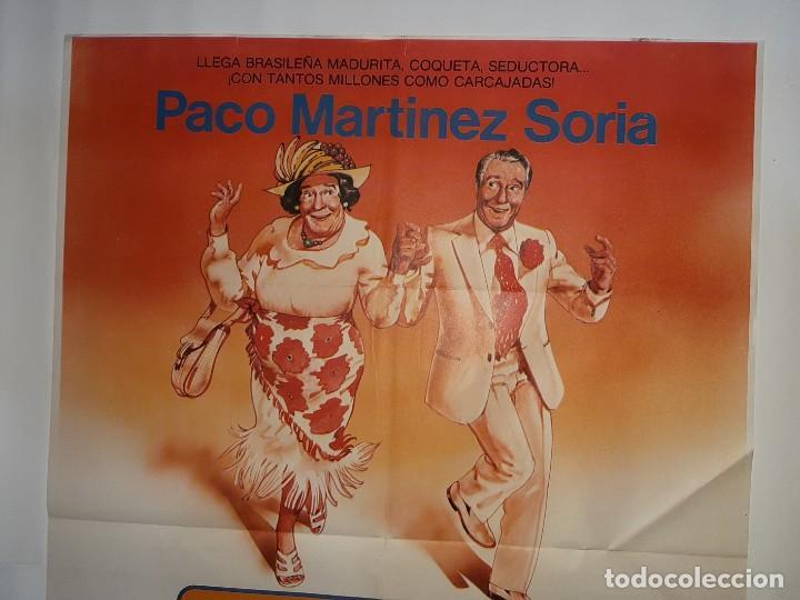 Cine: CARTEL CINE LA TIA DE CARLOS PACO MARTINEZ SORIA 1981 C426 - Foto 2 - 186113665