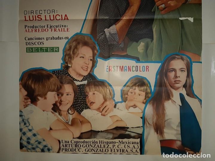 Cine: CARTEL CINE ENTRE DOS AMORES MANOLO ESCOBAR INMA DE SANTY 1972 C431 - Foto 3 - 186114740
