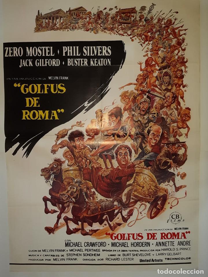 CARTEL CINE GOLFUS DE ROMA C442 (Cine - Posters y Carteles - Comedia)