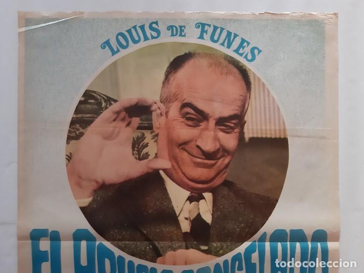 Cine: CARTEL CINE EL ABUELO CONGELADO LOUIS DE FUNES 1978 C463 - Foto 2 - 186236403