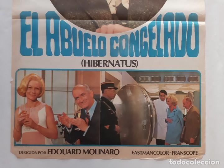 Cine: CARTEL CINE EL ABUELO CONGELADO LOUIS DE FUNES 1978 C463 - Foto 3 - 186236403