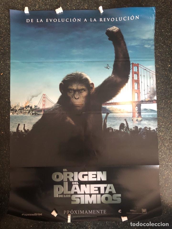 EL ORIGEN DEL PLANETA DE LOS SIMIOS CINE POSTER 100CMX70CM (Cine - Posters y Carteles - Ciencia Ficción)