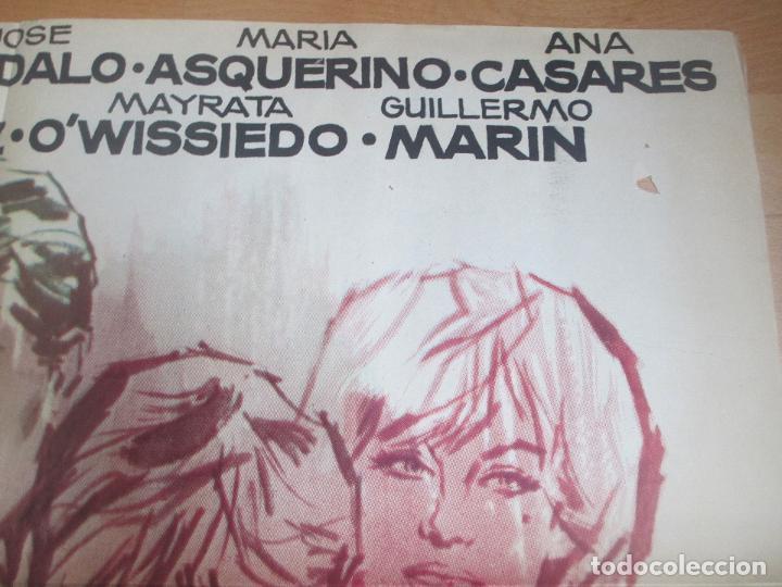 Cine: CARTEL CINE EL JUEGO DE LA VERDAD MADELAINE ROBINSON SAMI FREY JANO 1963 C1699 - Foto 2 - 186318712