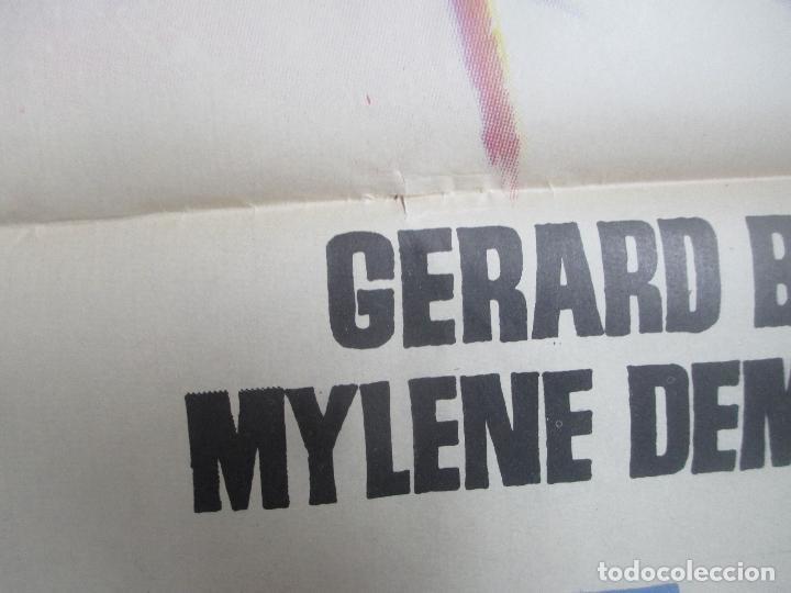 Cine: CARTEL CINE LA VENGANZA DE MILADY GERARD BARRAY MYLENE DEMONGEOT JANO 1962 C1701 - Foto 2 - 186319246