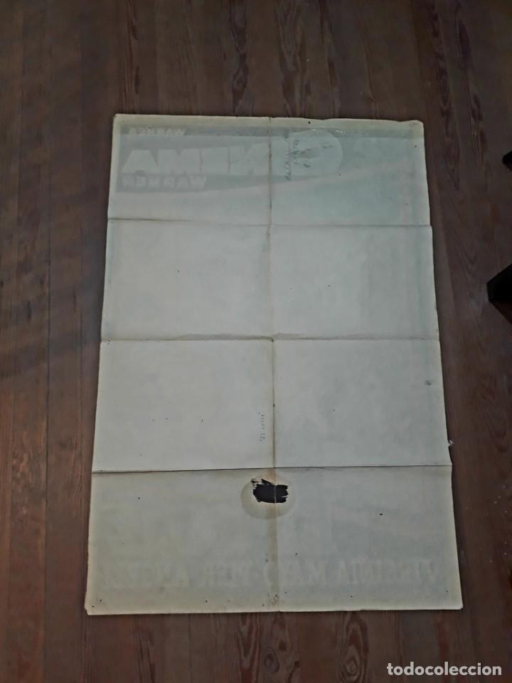 Cine: El cáliz. VIRGINIA Mayo, Pier Angeli.. Cartel argentino.110 x 75 cm. Serigrafiado. - Foto 4 - 186349632