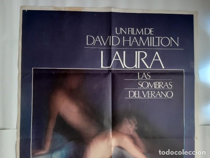 Cine: CARTEL CINE LAURA LAS SOMBRAS DEL VERANO DAVID HAMILTON 1979 C464 - Foto 2 - 186365770