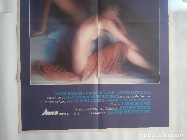 Cine: CARTEL CINE LAURA LAS SOMBRAS DEL VERANO DAVID HAMILTON 1979 C464 - Foto 3 - 186365770