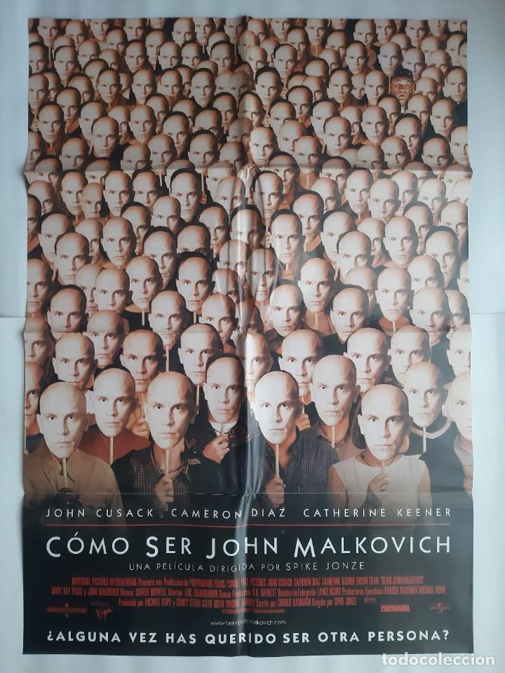 CARTEL CINE COMO SER JOHN MALKOVICH 1999 C466 (Cine - Posters y Carteles - Comedia)